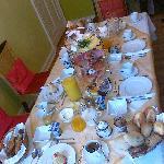das schönste Frühstück das ich je hatte