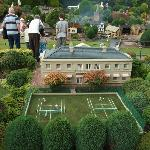 Tennis at the manor house