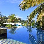 Piscine Banyan Tree Seychelles - Avril 2011