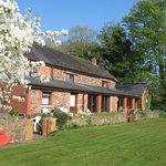 it is a lovle location.. back garden
