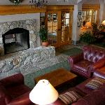 The Inn Living Room. A perfect place to unwind.