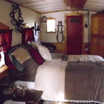 Bed area Caboose #103