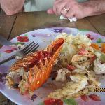 Divine seafood platter.