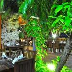 French Restaurant in tropical ambience