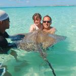 kissing the ray