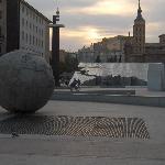 La piazza...