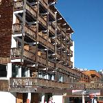 Hotel Christina from the piste