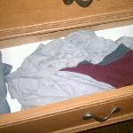 This is what discust me the most. DIRTY/USED clothing left behind.
