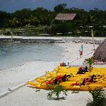 plage+canoe