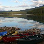 Beautiful Patricia Lake in the morning