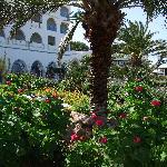 hôtel depuis jardins