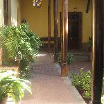 Entrance Patio & Corridor