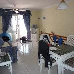 light and airy villa