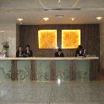 The lobby and helpful service desk