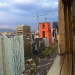 Vista hacia Paseo de la Reforma
