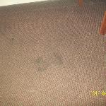 stains on rug