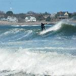 Spring Surfing on Long Beach