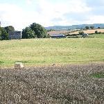 Vista de Sherwood house desde lso prados