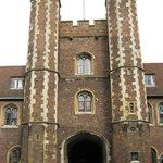 Queens' College. Das alte Tor