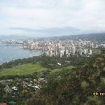 View of Waikiki from the top