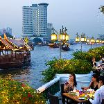The View of The Chao Phraya River