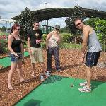 Here's another great fun challenge for all ages - Mini Golf!