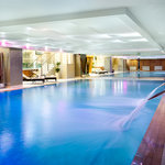 The pool at The Blue Harbour Spa