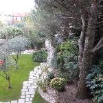 Suite n°9 vue balcon sur jardin