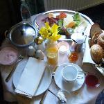 Frühstück auf dem Zimmer, für EINE Person!