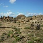 More ruins of the Temple of Zeus.