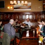 Live Irish music in Pikeman's Bar