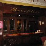 Reception desk in The Grand