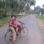 Village kids near the homestay