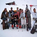 Dress up for Hanmer Springs Ski Area