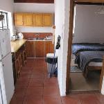 Küche und kleineres Schlafzimmer