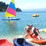 canoe,windsurf and dinghy sailing