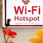 Free Wifi is available in every room