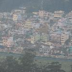View of Ooty town