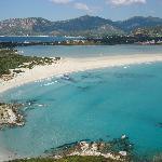 La splendida spiaggia di Porto Giunco