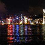 TST View of Victoria Harbour and HK Island