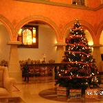 Christmas in the main hall