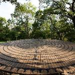 Our walking labyrinth is a beautiful site for meetings, wedding ceremonies, and personal meditat