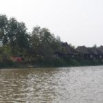 chalets overlooking the lake
