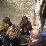 Visite du marché aux truffes de Richerenches