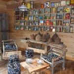 le petit salon de lecture