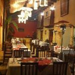 restaurante del hotel san Marcos