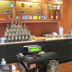 The cashier counter