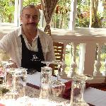 Gils, the owner and chef