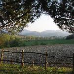 La vue depuis la Topaia
