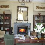 One of the lovely lounges at Casona de la Paca